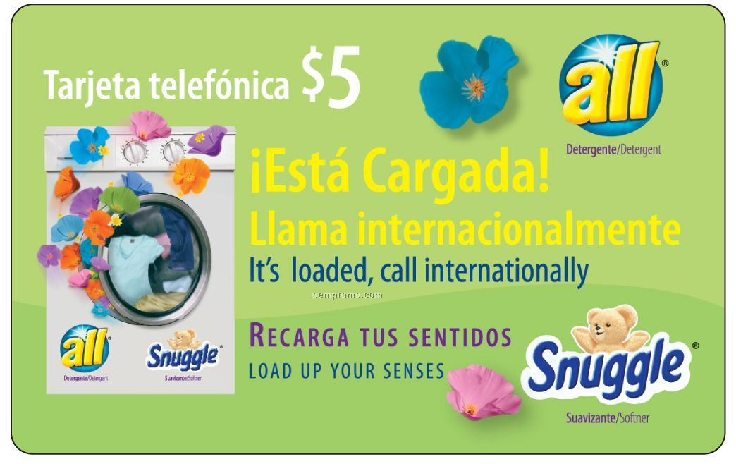 30 60 minute latin america us phone card or key tag - Long Distance Calling Cards