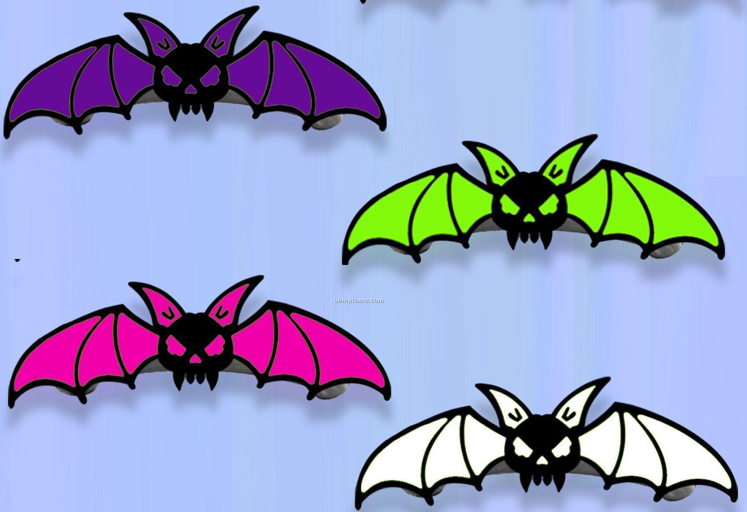 Halloween Hair Clips With Bat