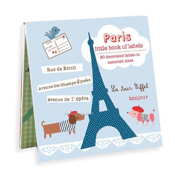 Paris Book Of Labels