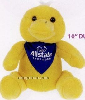 Stock Duck Stuffed Animal