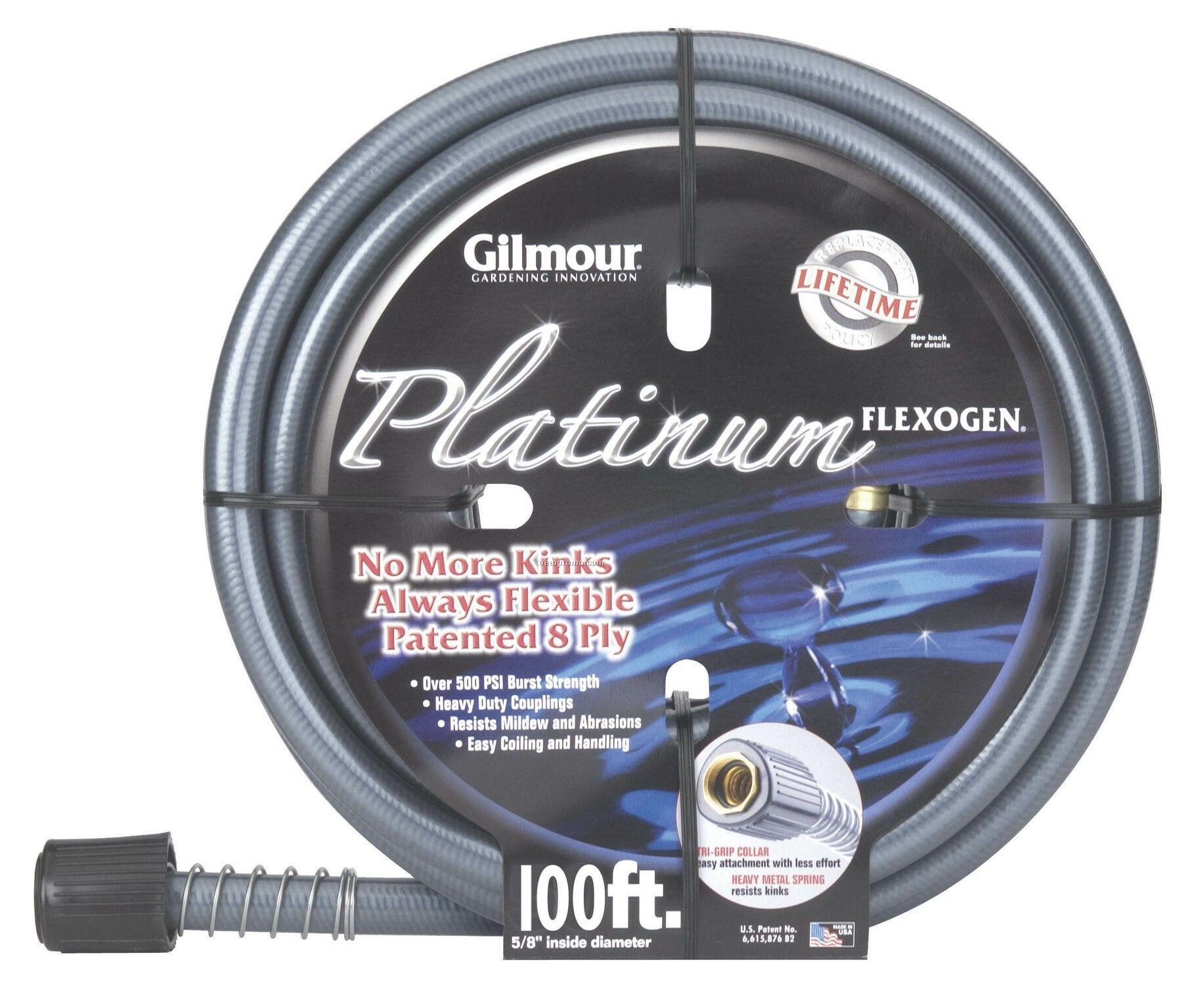 Gilmour 100u0027 Platinum 8 Ply Flexogen Garden Hose