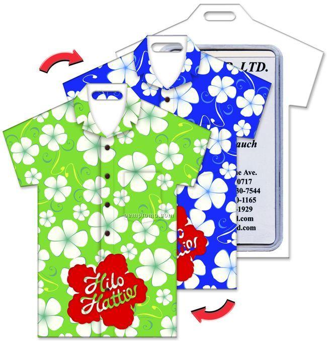 Hawaiian Luggage Tags Luggage Tag T-shirt Shape