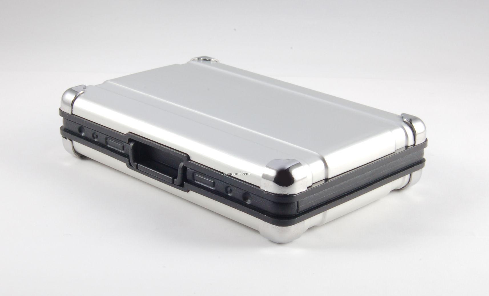 Metal Suitcase Memory Card Reader