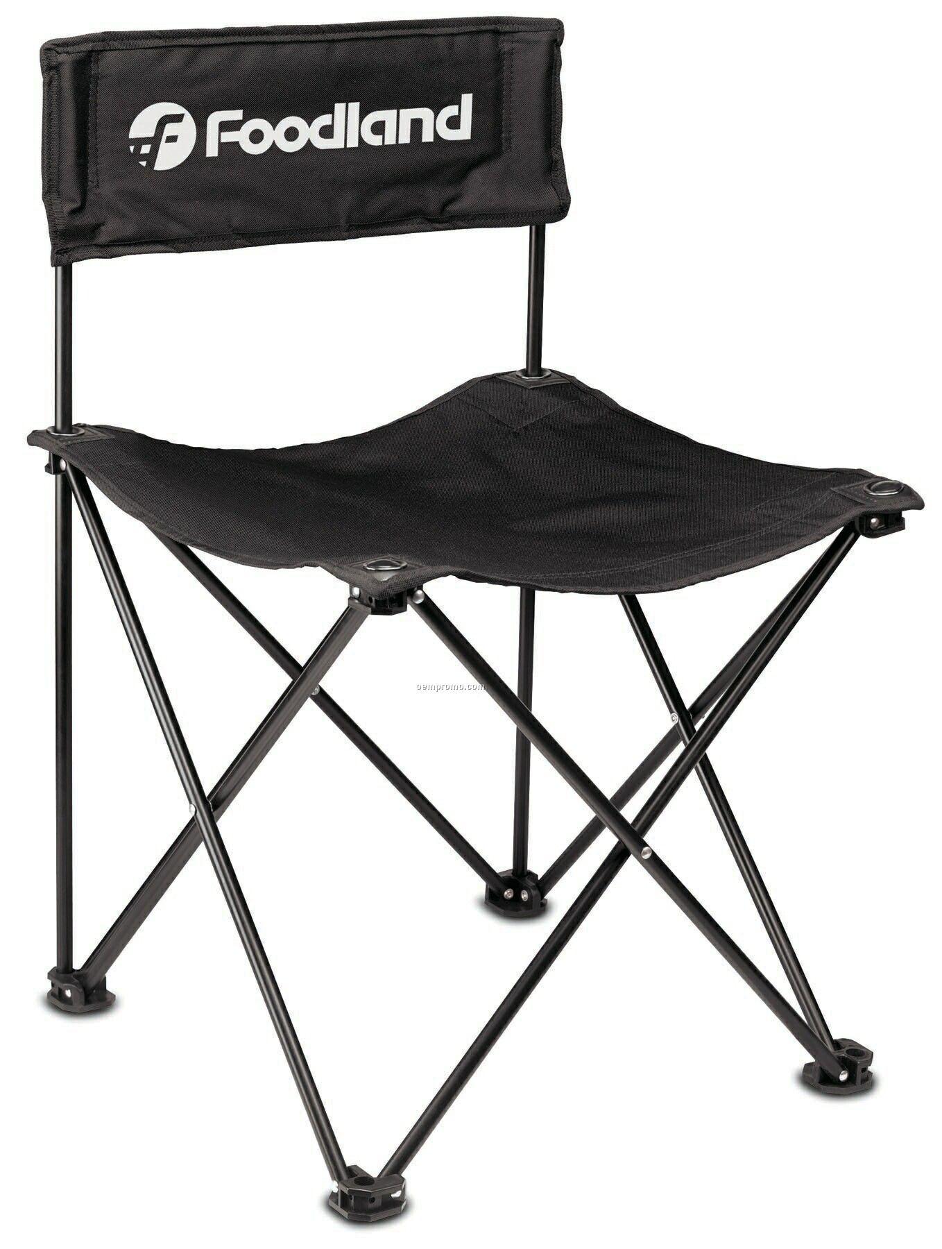 Rcc Koozie Quad Chair W/ Carry Bag