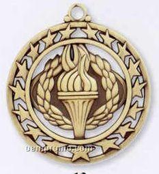 Star Border Medallions - Victory