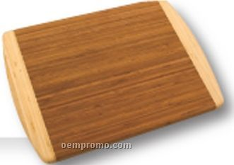 Kauai Bamboo Rectangle 2-tone Cutting Board