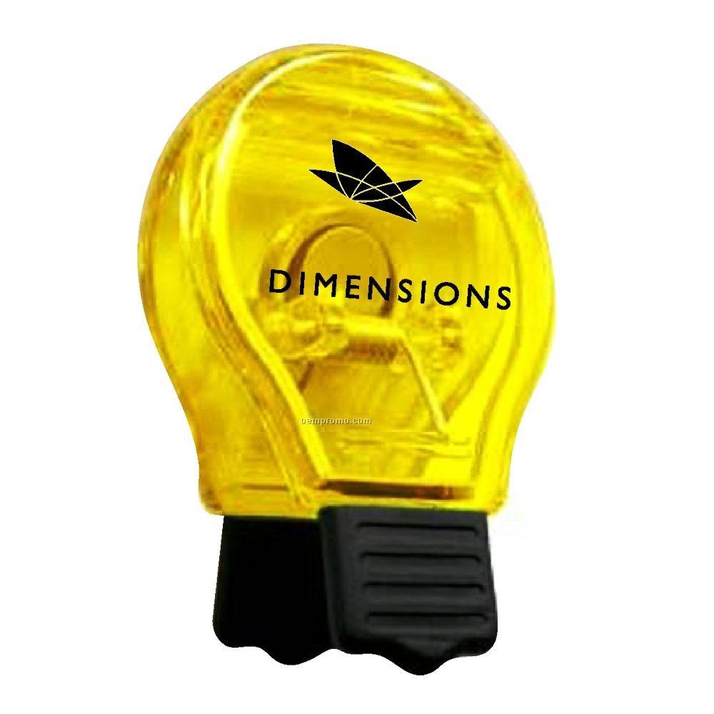 Light Bulb Magnetic Clip