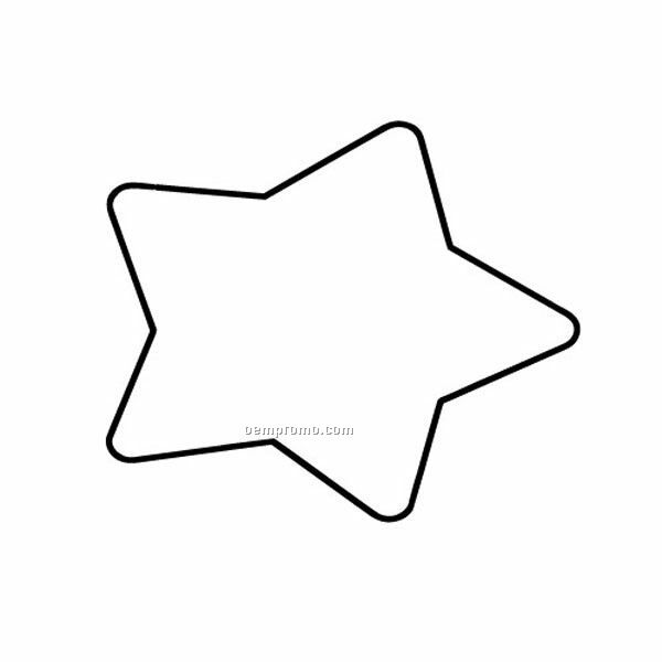 Stock Shape Star Recycled Magnet