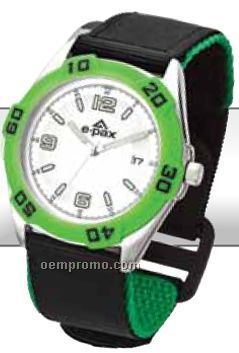 Unisex Sporty Style Watch W/ Colorful Accents
