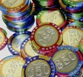 100% Belgian Chocolate Standard Casino Chips