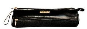 Brown Veg Tanned Calf Leather Pencil Case