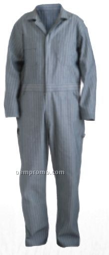Fisher Stripe Cotton Standard Unlined Coverall (Tall) (M-4x)