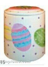 Easter Eggs Regular Cookie Keeper Jar (Inside Lid Imprint)