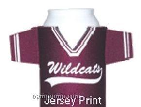 Crazy Frio Beverage Holder - Jersey Print W/ 2 Appendages