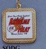 """Custom Kromafusion Medallions - 1-1/4"""" Square Deal Medal"""
