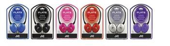Jvc Flats Lightweight Headphones