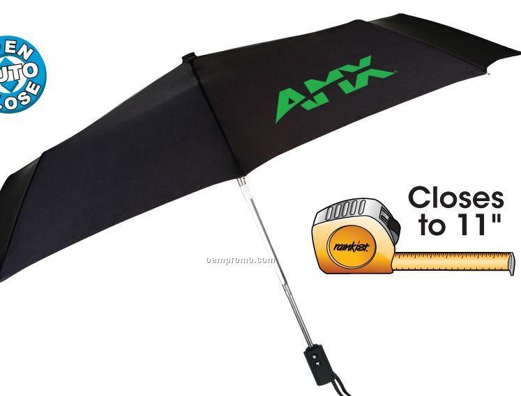 Traveler Umbrella With Rubberized Handle