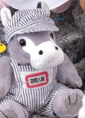 Gb Brite Plush Beanie Stuffed Donkey
