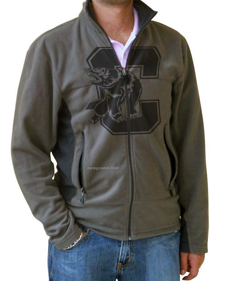 Men's Revelstoke Lightweight Microfiber Fleece Jacket (Blank - Xs-xl)