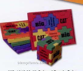 Multi-color Foam Puzzle Cube