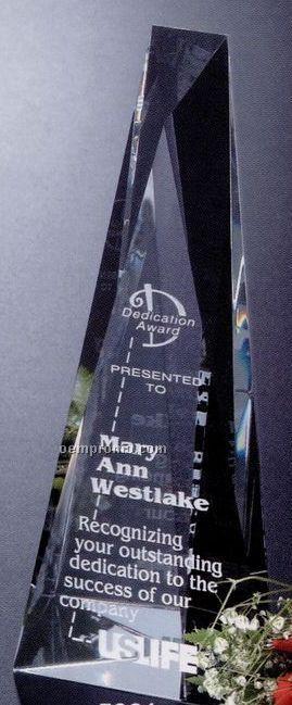 "Pristine Gallery Crystal Serenity Award (8"")"