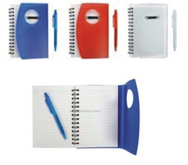 Spiral Notepad With Pen