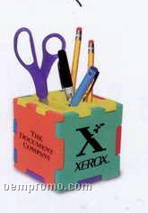 Multi-color Pen Holder Cube & Puzzle