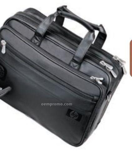 Soft Double Compartment Briefcase / Compucase