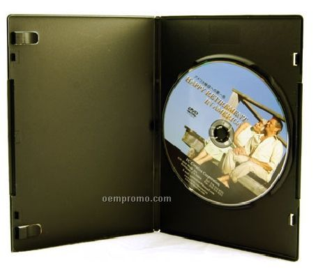 DVD Replication Retail In Black Slim Amaray Case (DVD 5)