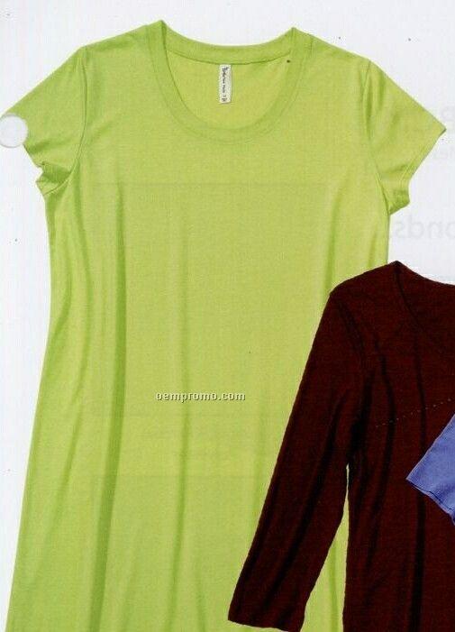 Ladies Eco-friendly Bamboo Jersey Night Shirt (S-xl) Sun Moda Label