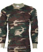 Men's Camouflage Thermal Underwear Shirt (S-xl)
