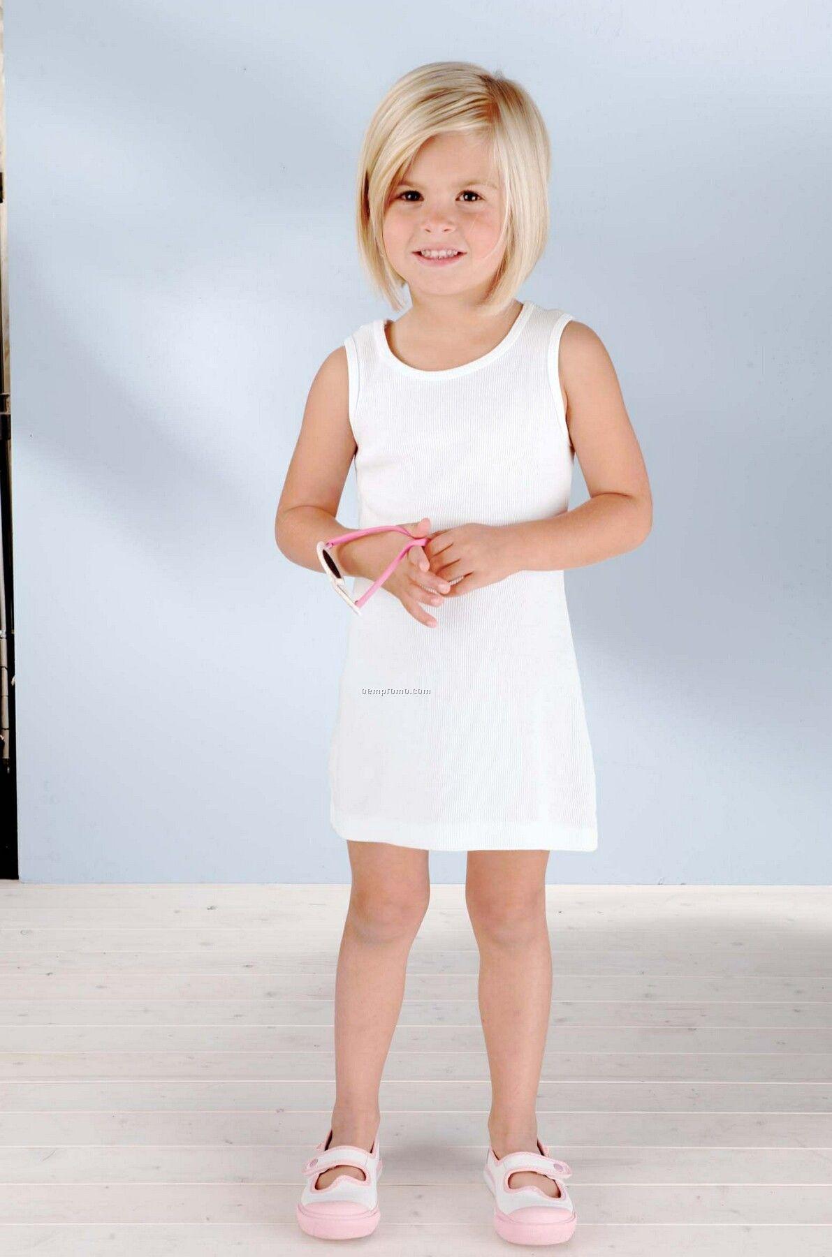 Toddler 2x1 Rib Tank Dress