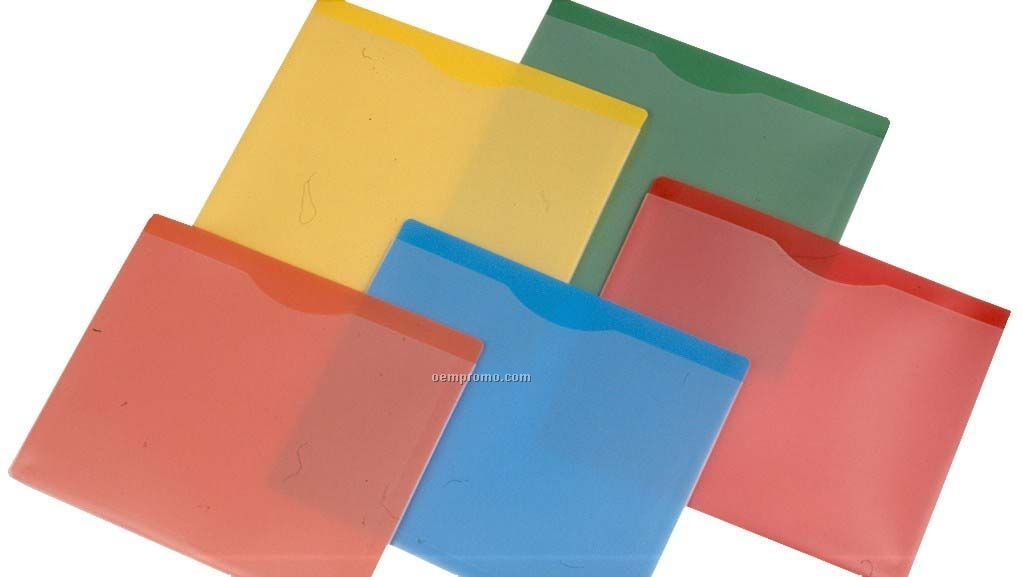 Yellow Letter Size File Jacket Cover