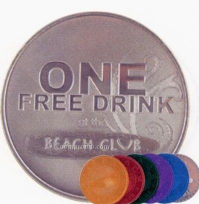 "1-5/16"" Aluminum 14 Ga. Die Struck Coins & Medallions"