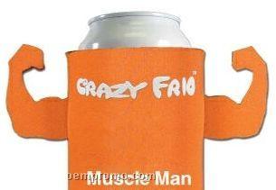 Crazy Frio Beverage Holder - Muscle Man W/ 2 Appendages