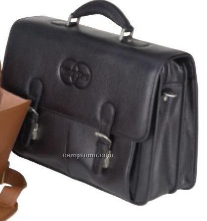 Flap Over Bellino Compucase Briefcase