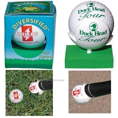 Golf Ball Retriever In Box With Ball Marker