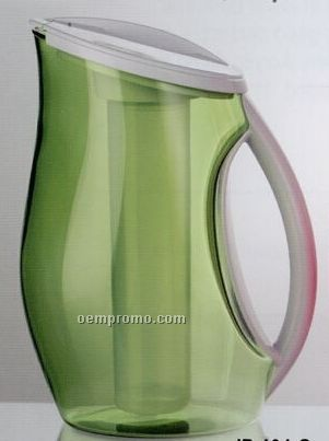 Green Iced Pitcher With Color Sleeve