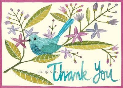 Avian Friends Thank You Notes