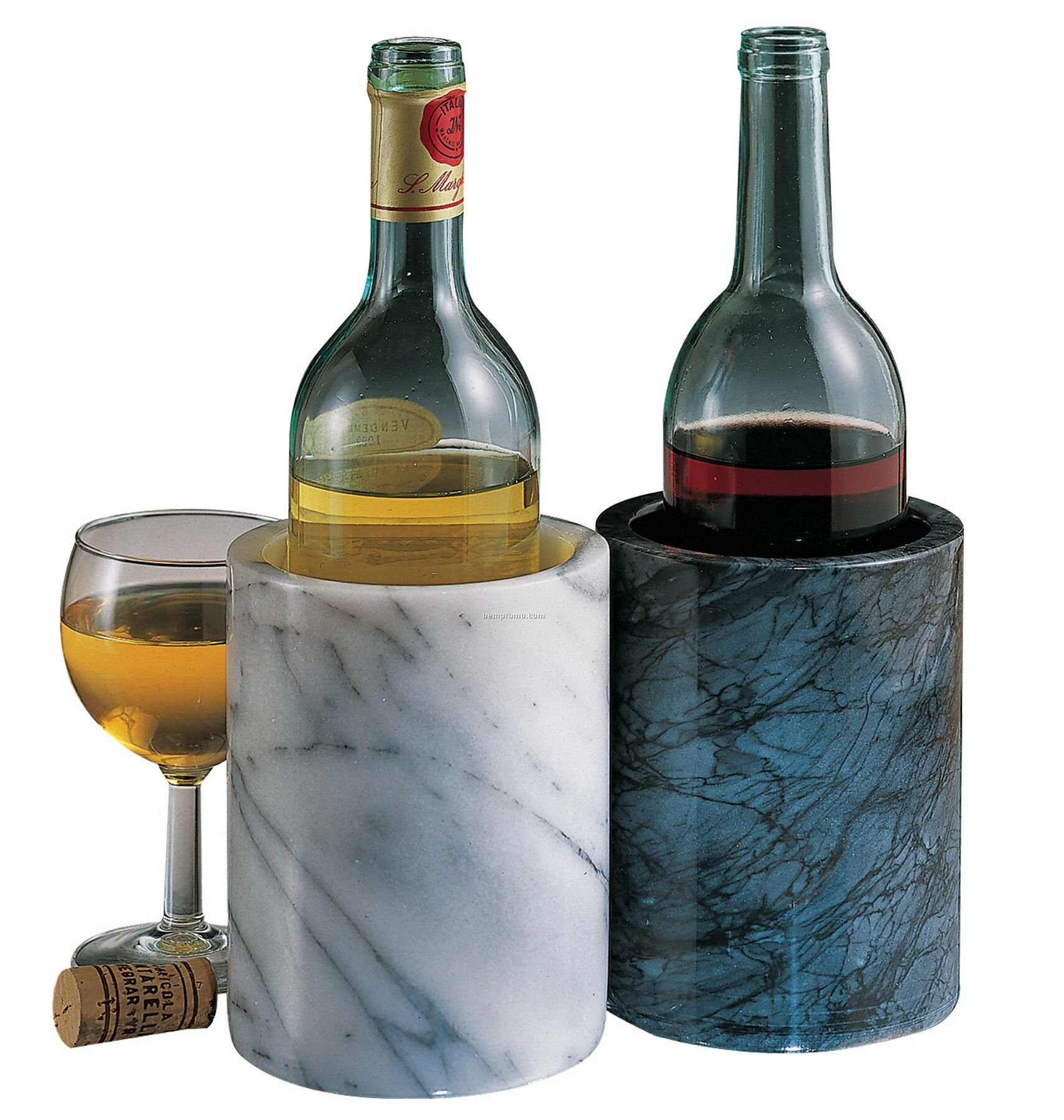 "Marble Iceless Wine Cooler (5.75""X4.25"")"