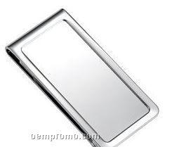 Metal Chrome Plated Money Clip