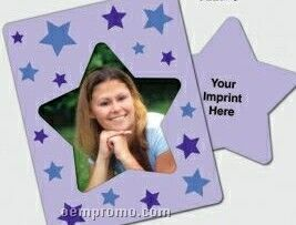 Star Center Picture Frame Magnets