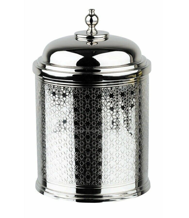 Waterford 147376 Jaipur Lidded Ice Bucket With Tongs