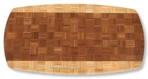 Zambia 2-tone Bamboo Cutting Board