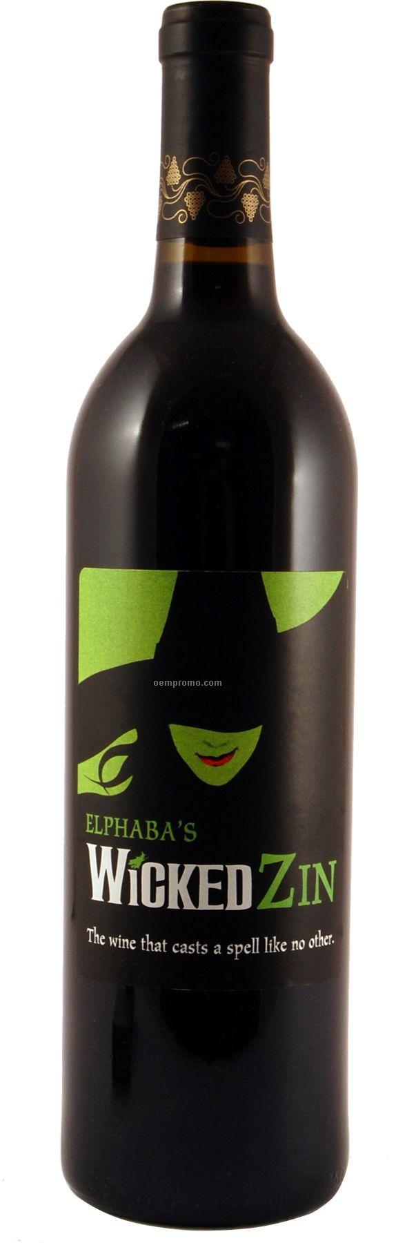 2007 Wv Zinfandel, Lodi Wine (Custom Labeled Wine)