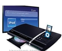 Iluv 5.1 Channel Slim Desktop Ipod / DVD Player