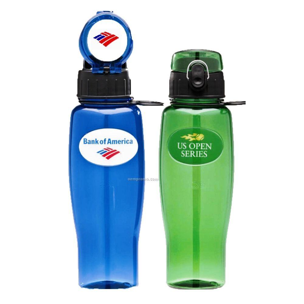 24 Oz. Flip Top Sports Bottle