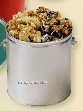 Candy Bar Creation Popcorn In 1/2 Gallon Tin