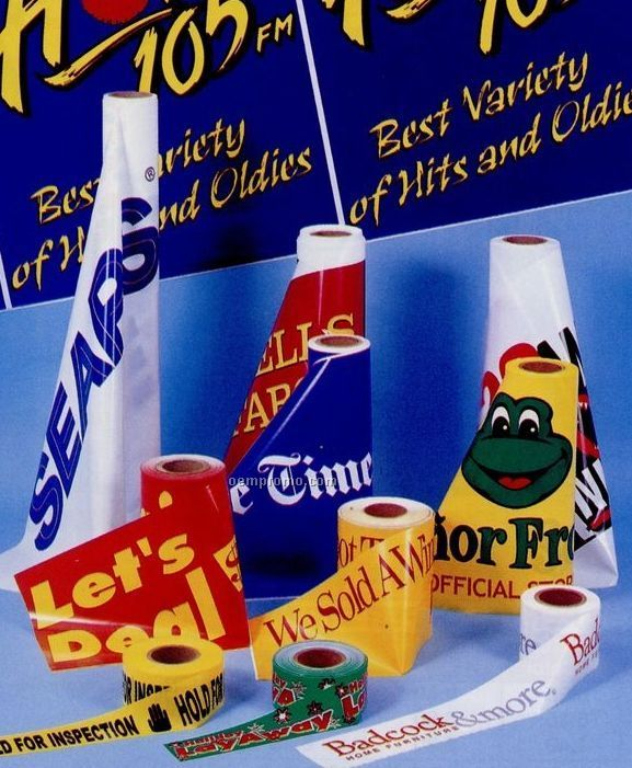 """Custom Printed Roll Banner (4 Color) (24""""X300')"""