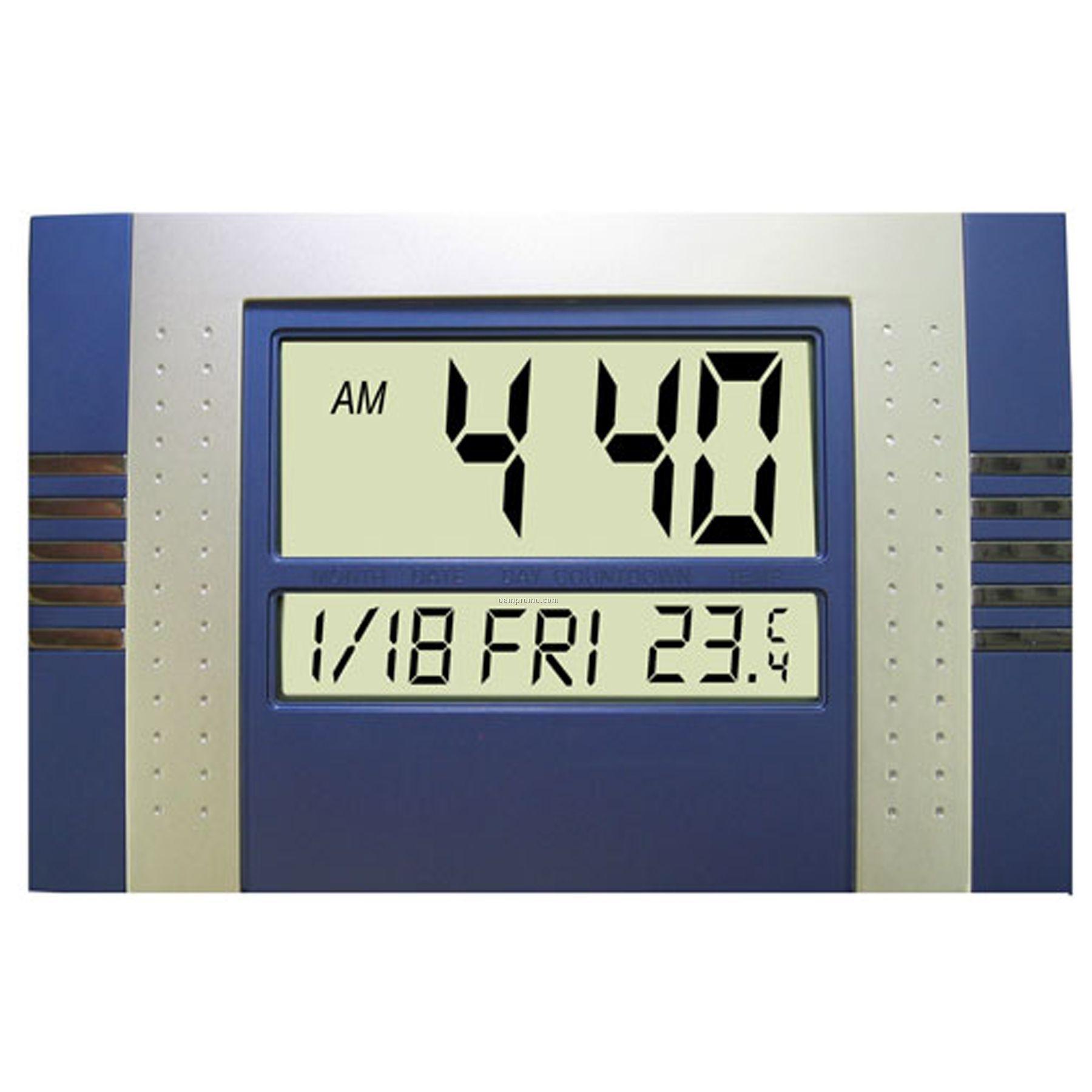 Digital Wall Desk Alarm Clock